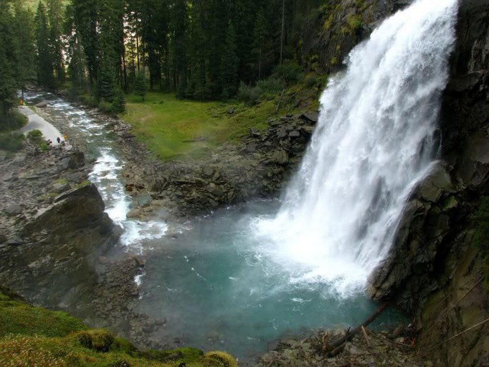 тропа до Криммльского водопада