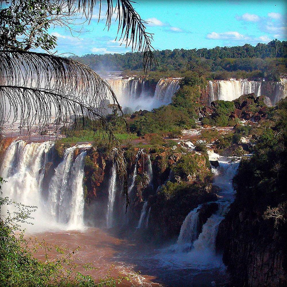 легенда водопада Игуасу