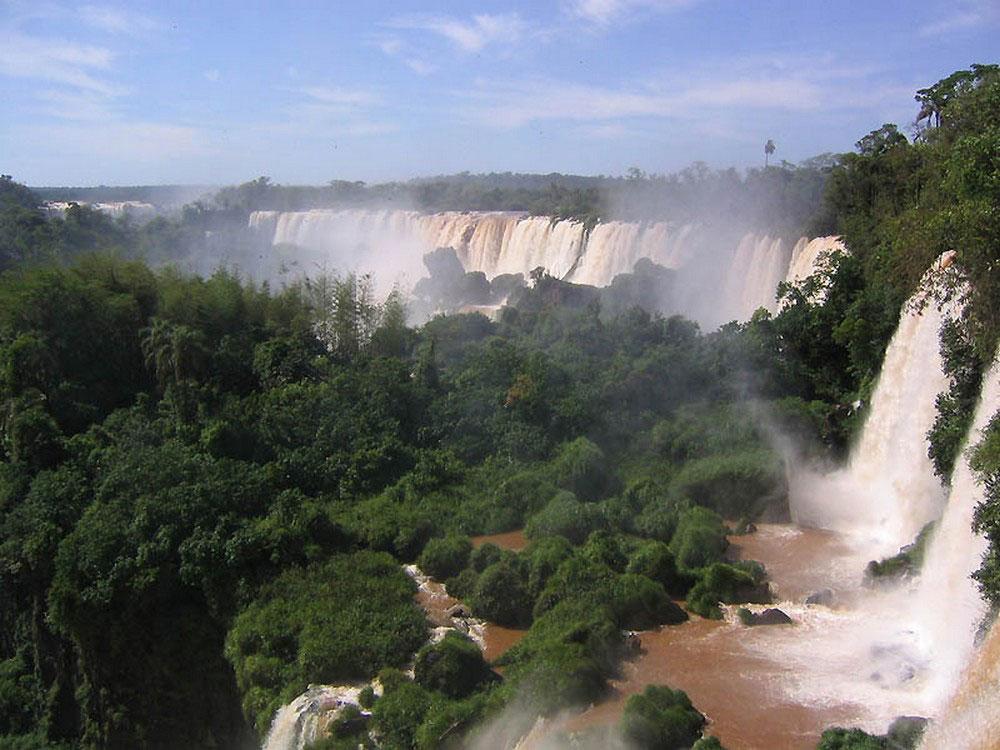 Край водопада, фото
