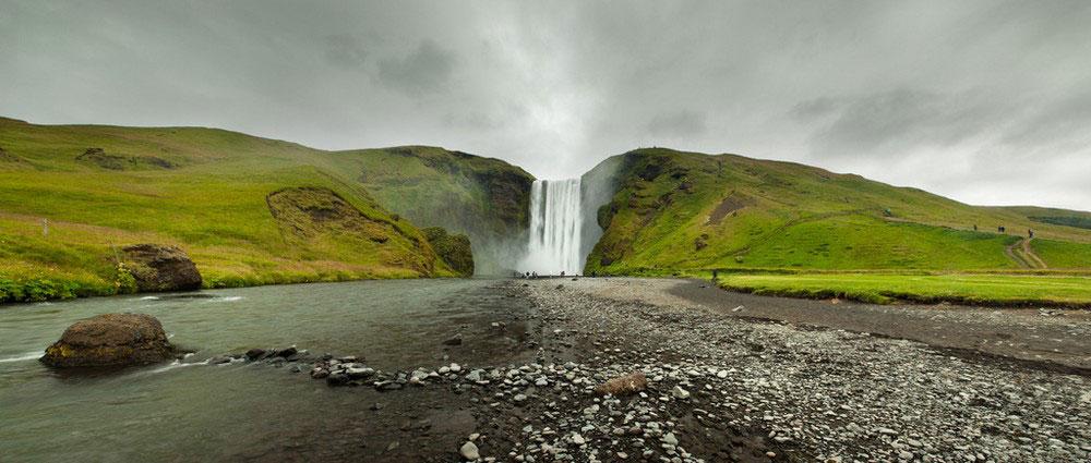Водопад Скоугафосс, фото