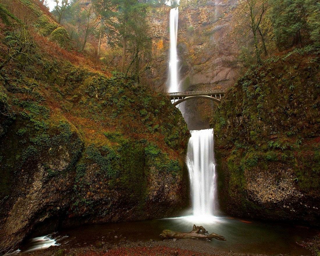 Водопад Малтнома, фото