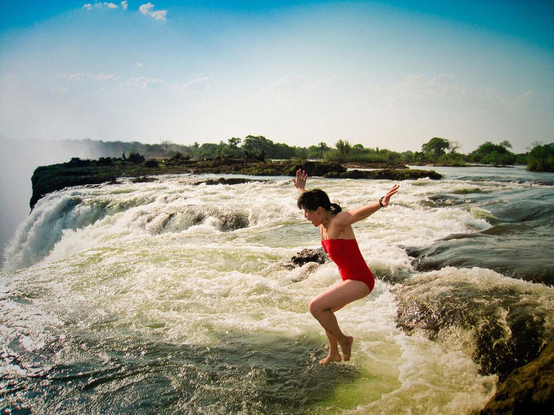 Водопад Виктория, фото
