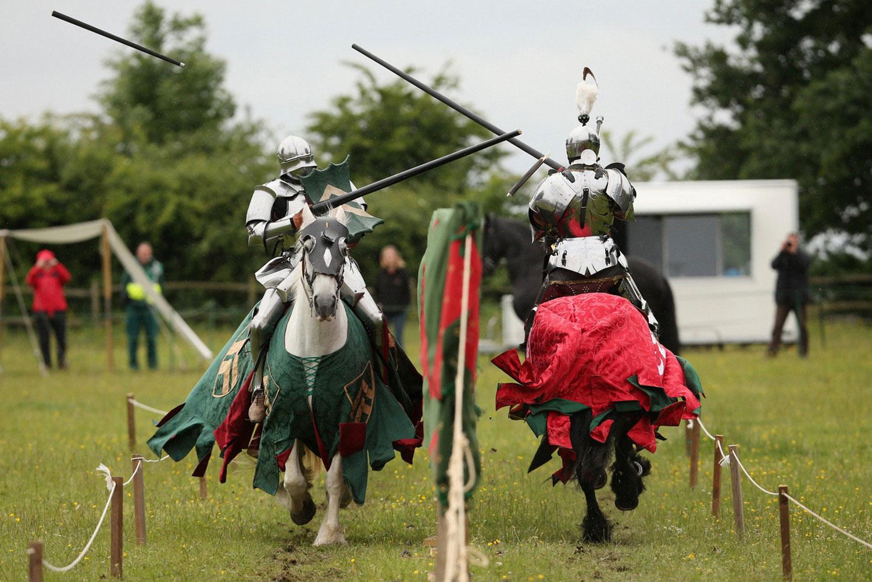 средневековые рыцарские поединки