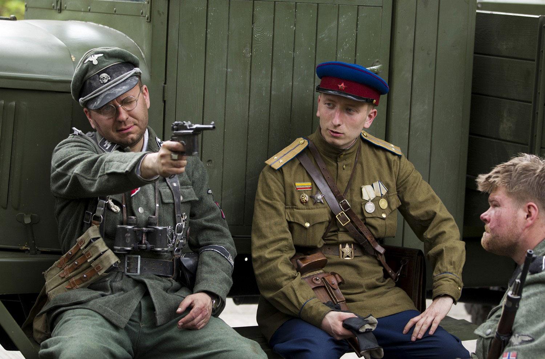 реконструкция боев за Берлин 1945