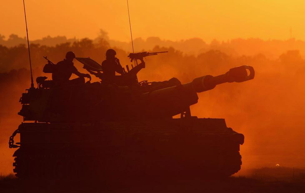 Израильские танки, фото