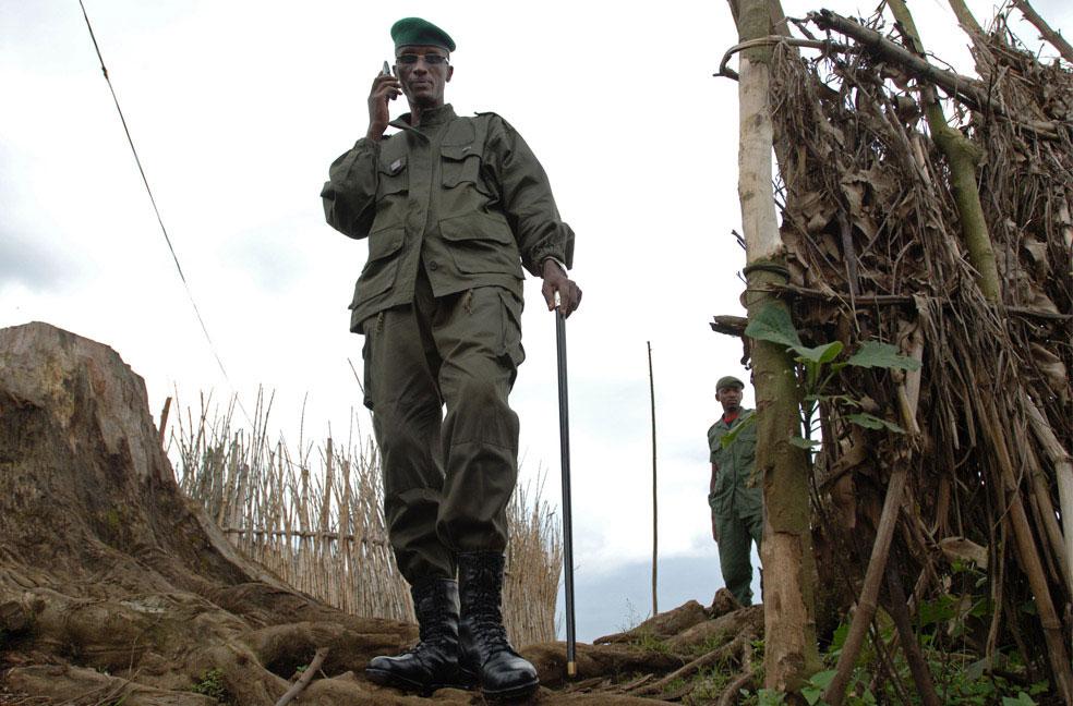 Генерал Лоран Нкунда, Конго, фото