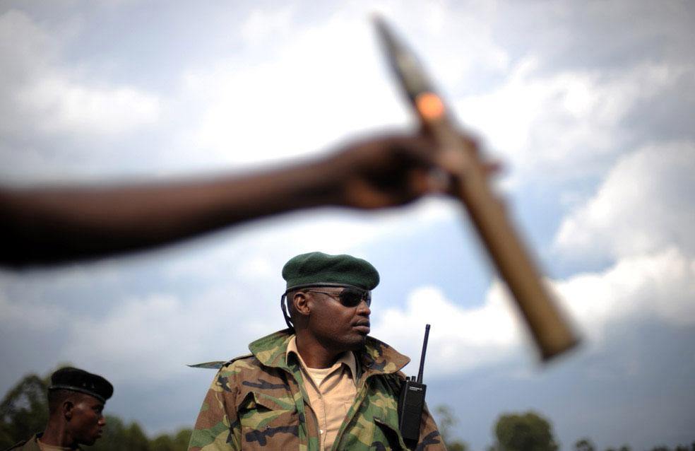 Артиллерийские боеприпасы, Конго, фото