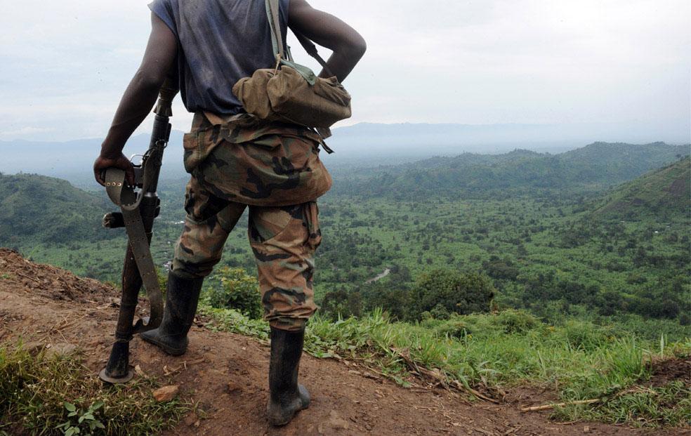 долина конголезского города Рутшуру, фото
