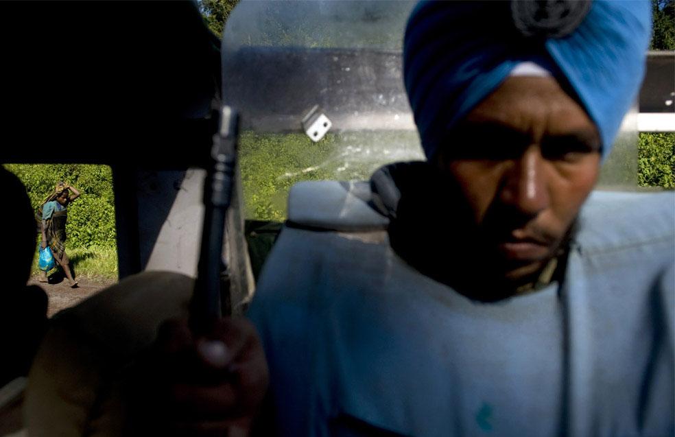 миротворцы из Индии, Конго, фото