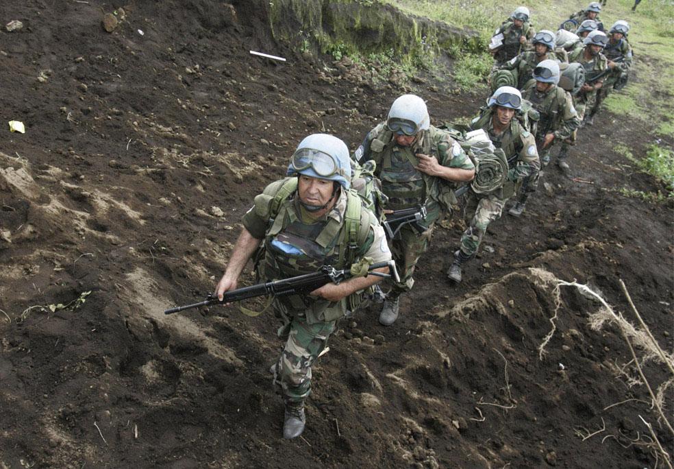 Уругвайские солдаты ООН, Конго, фото