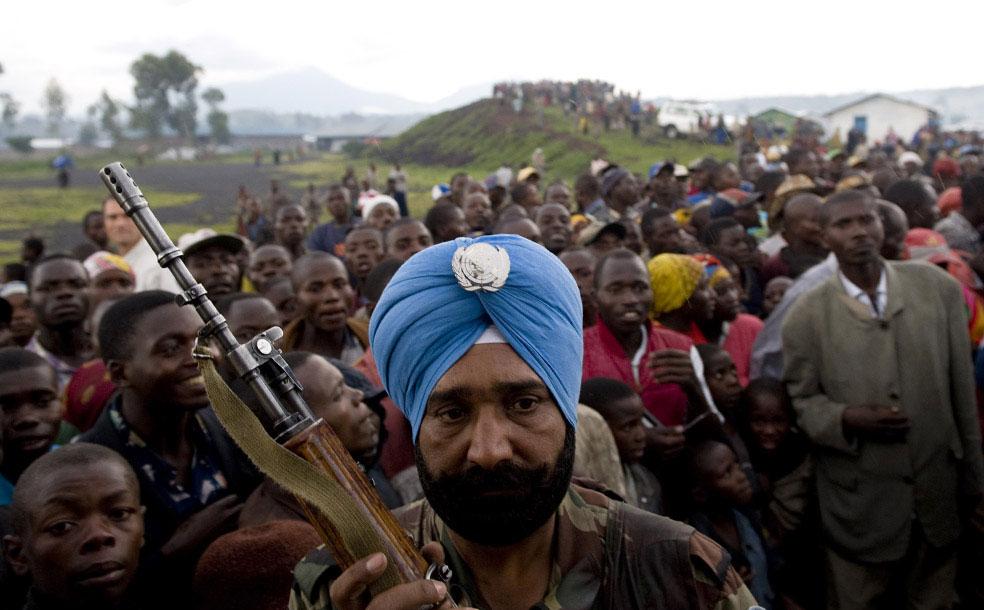 в ожидании министра иностранных дел Франции, Конго, фото