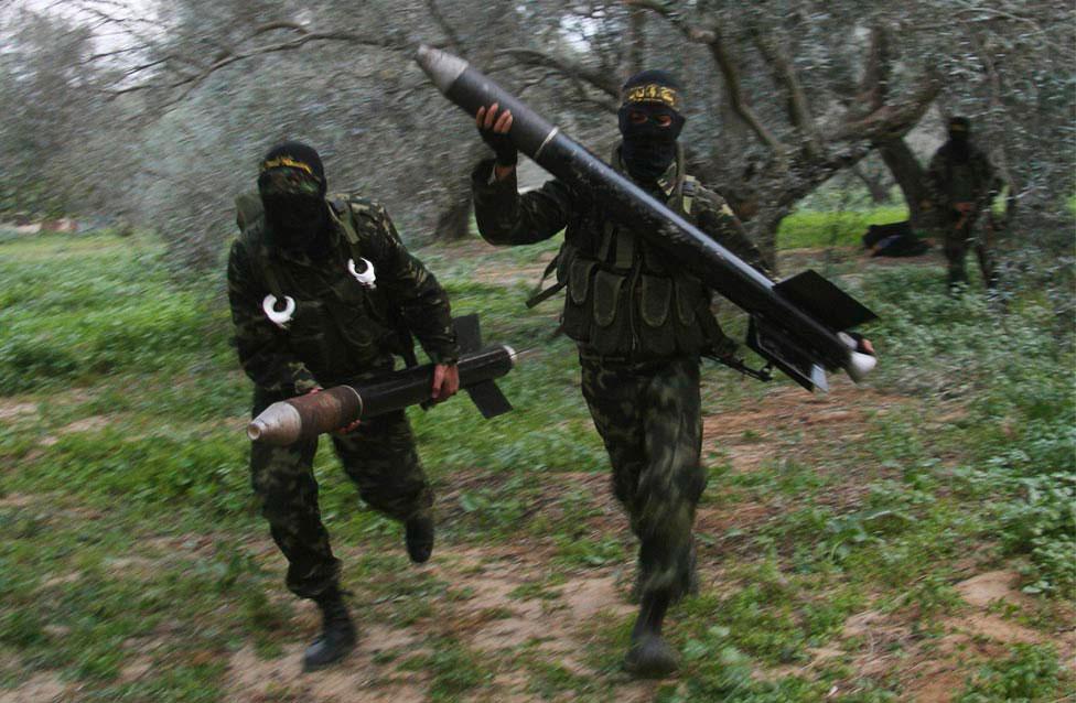 Палестинские боевики из Исламского джихада, фото
