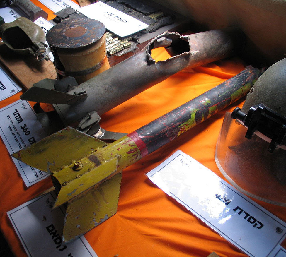 Кассам — неуправляемый реактивный снаряд, фото