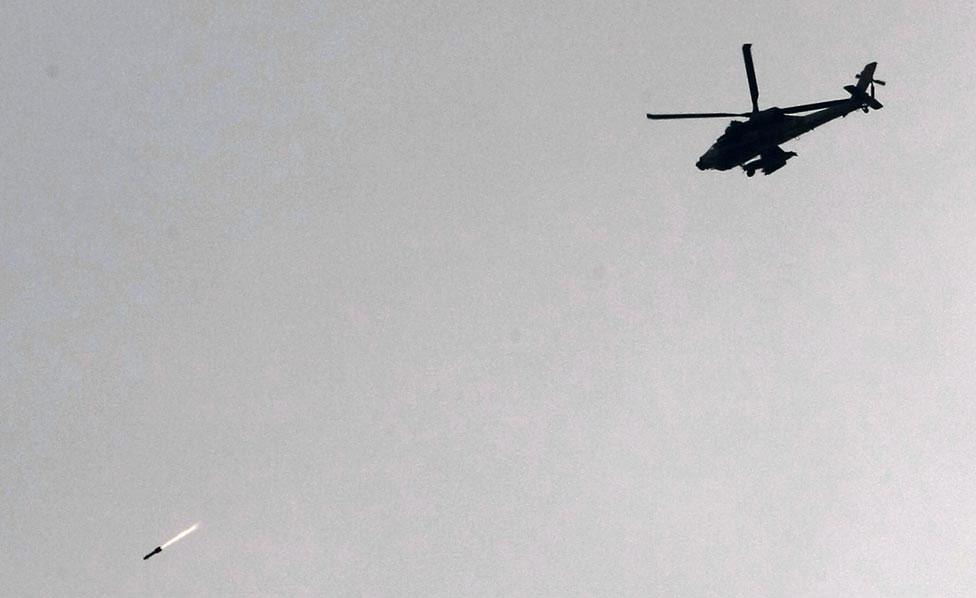 Израильский вертолет, фото