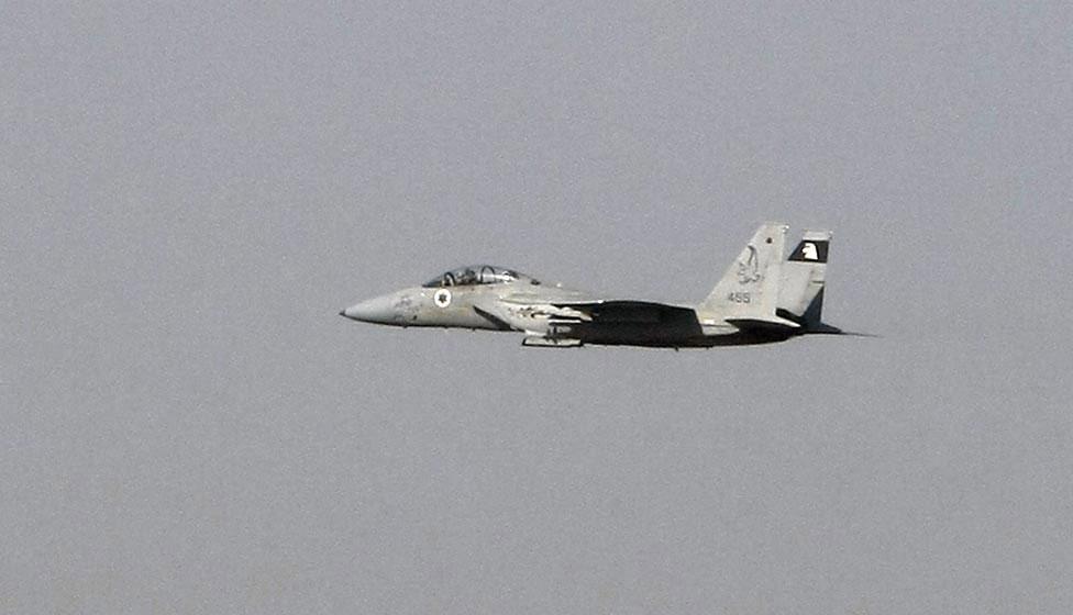 Израильский истребитель F15, фото
