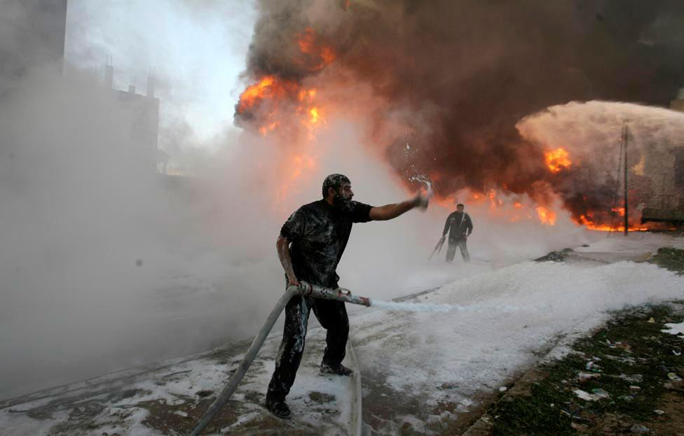 Палестинские пожарные, фото