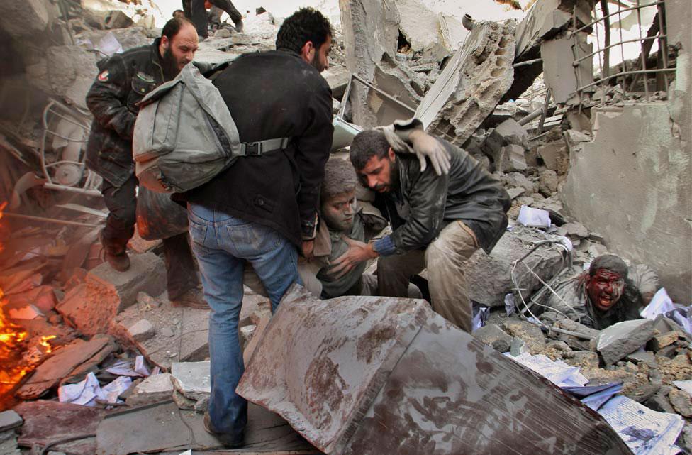 Палестинские спасатели, фото