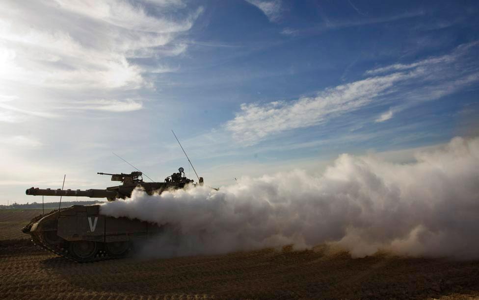 Израильский танк, фото