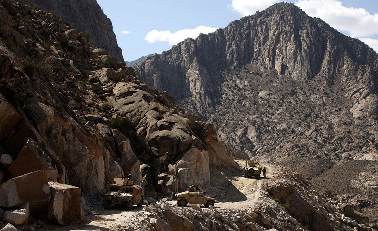 США патрулируют область в Афганистане, фото