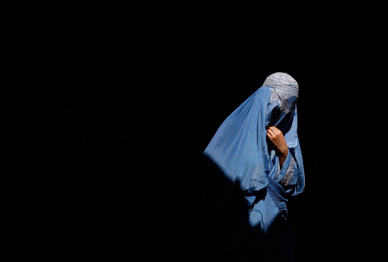 афганская женщина, фото