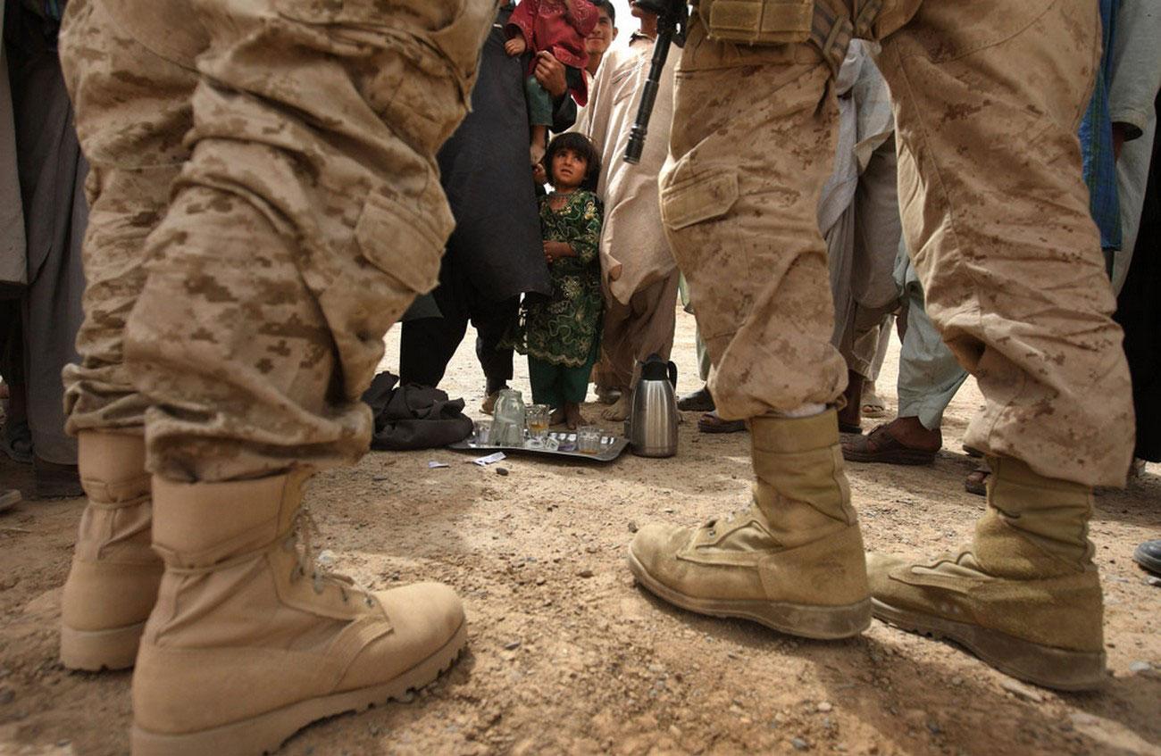 Солдат контрразведки морской пехоты США, фото