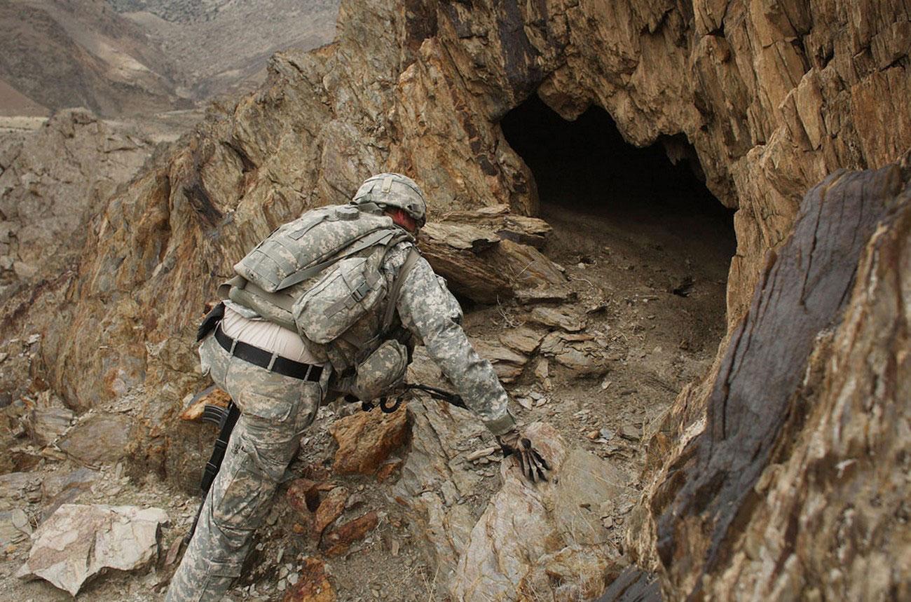 в поисках талибских ракетных установок, фото афганской войны