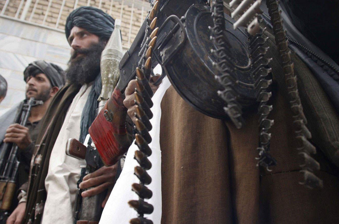 боевики Талибана, фото войны