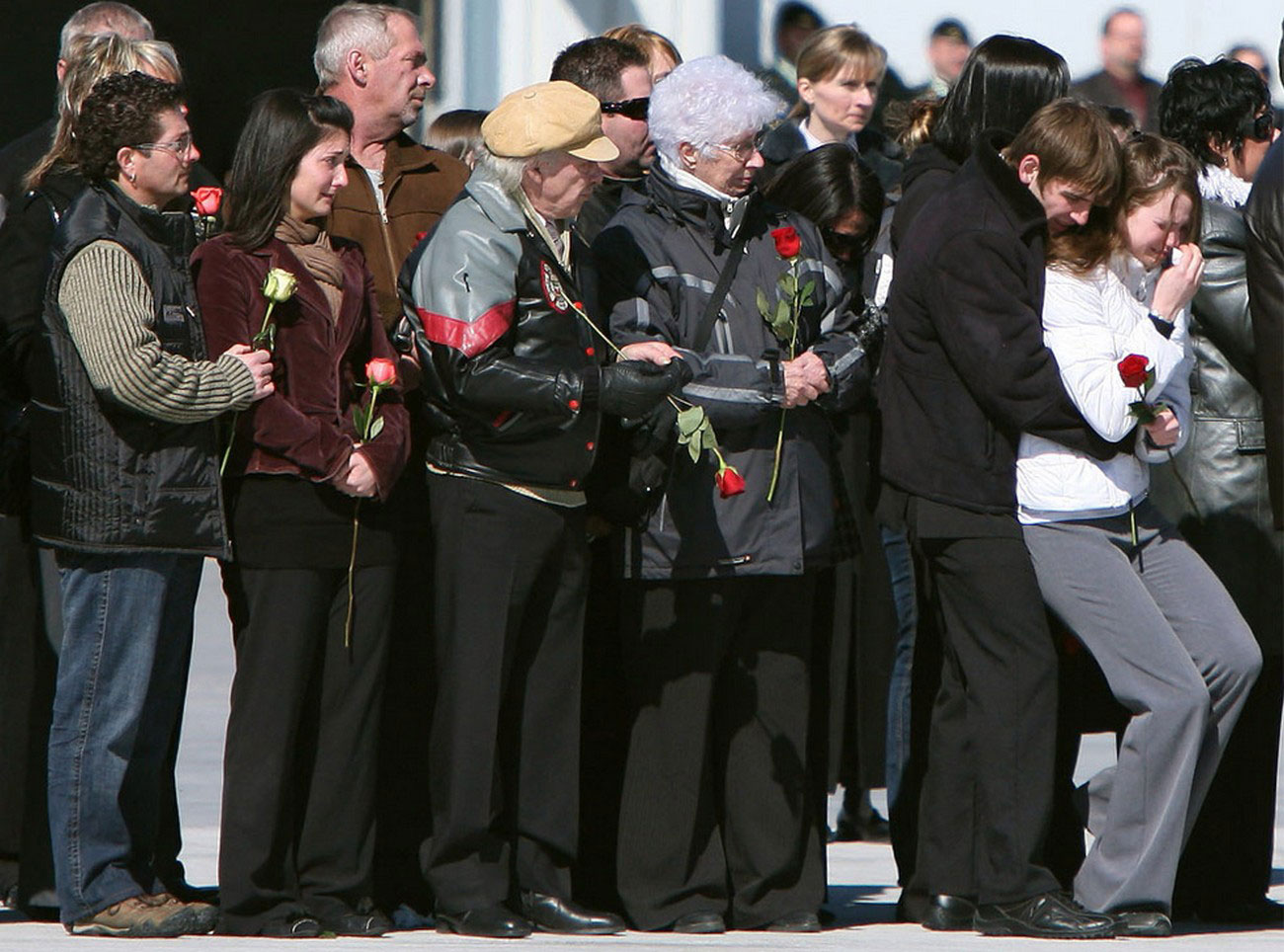 церемония репатриации в Онтарио, фото войны