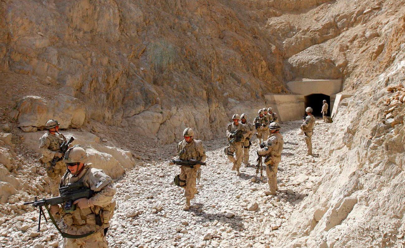 Канадские солдаты коалиции НАТО, фото