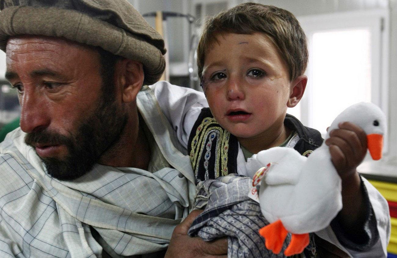 в больнице Афганистана, фото