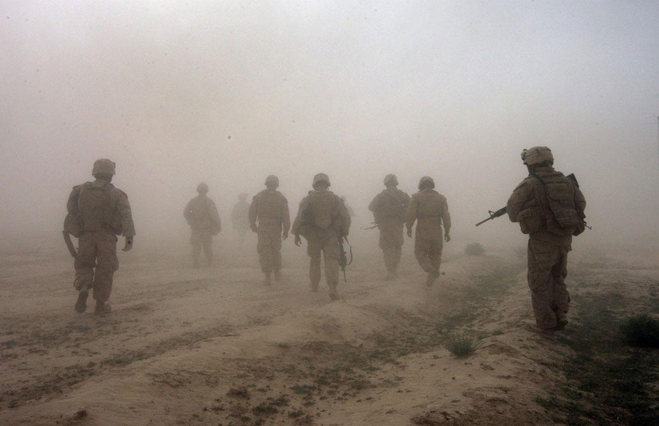 морские пехотинцы США, война в Афганистане