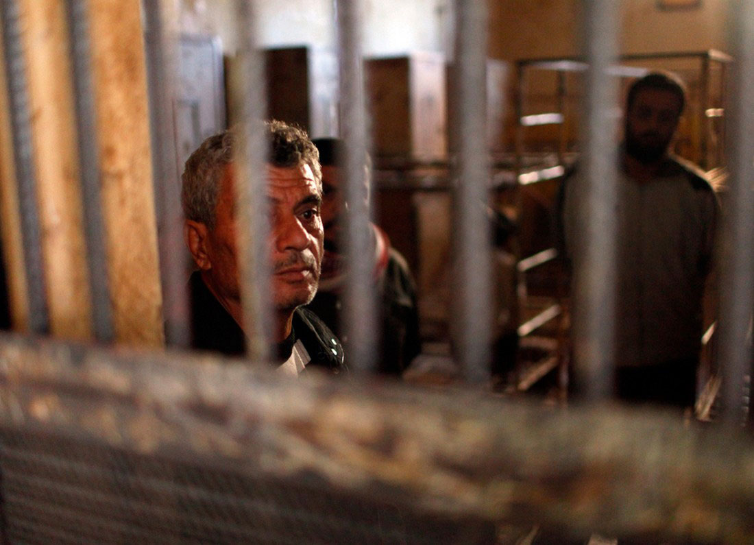 Повстанцы в тюрьме, фото, Сирия