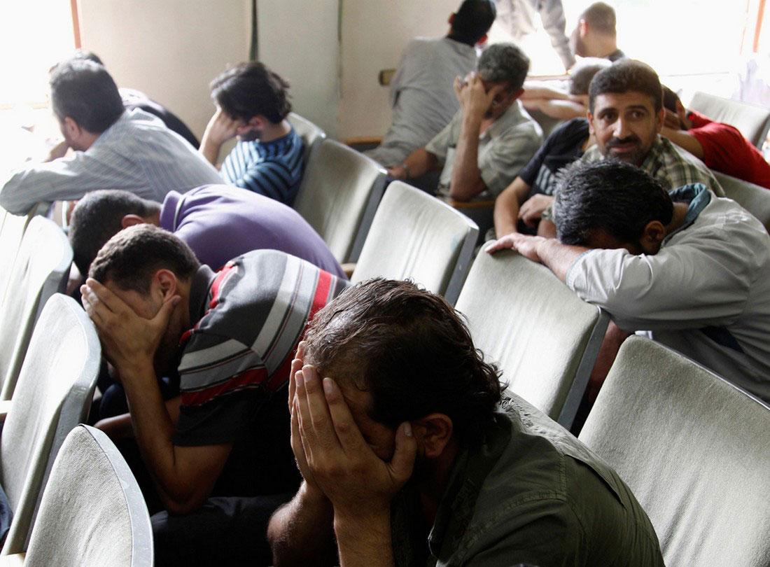 Сирийские заключенные, фото, Сирия