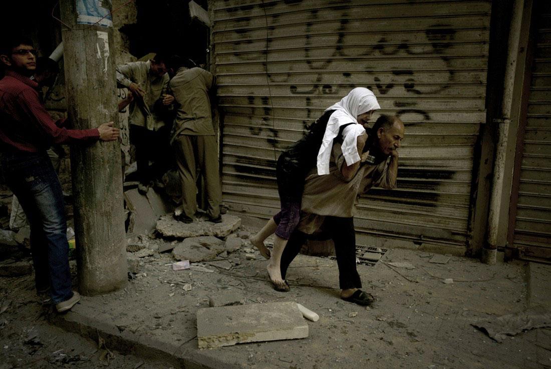 на руинах, фото, Сирия