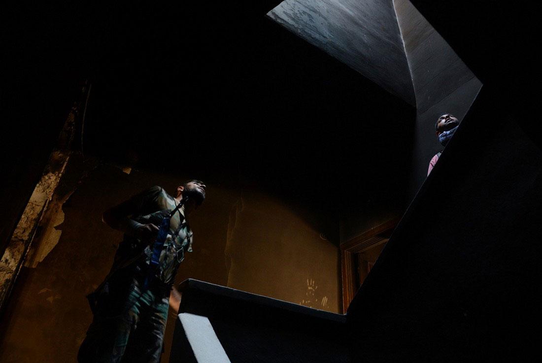 Сирийские повстанцы заняли оборонительную позицию, фото, Сирия