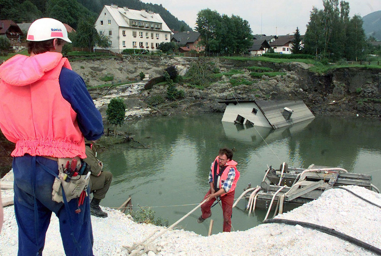шахта под водой