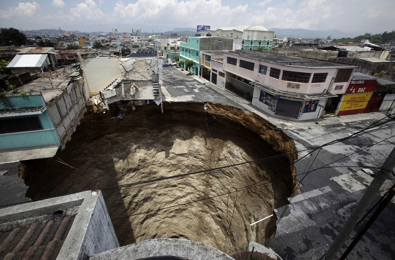 обрушение в Гватемале