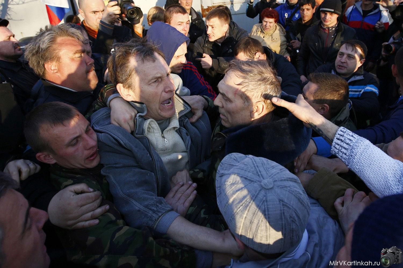протесты в Украине