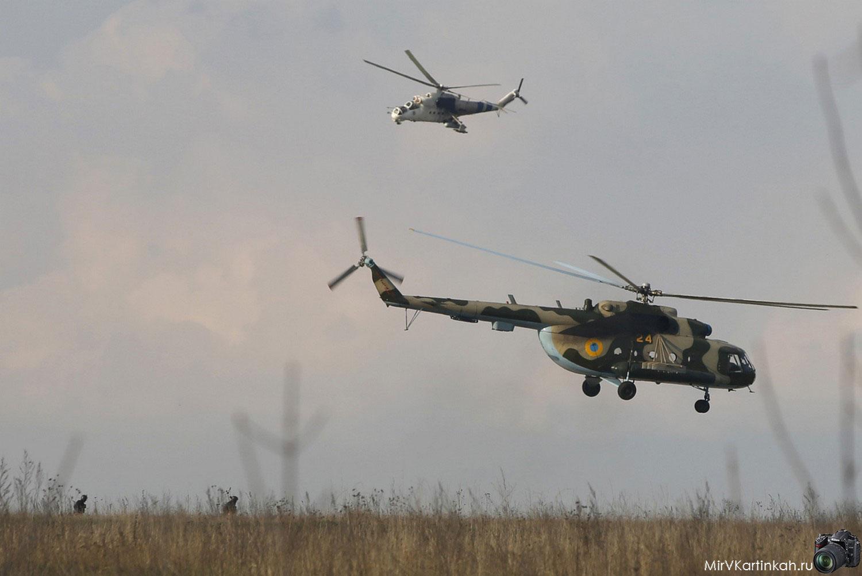 Украинские вертолеты