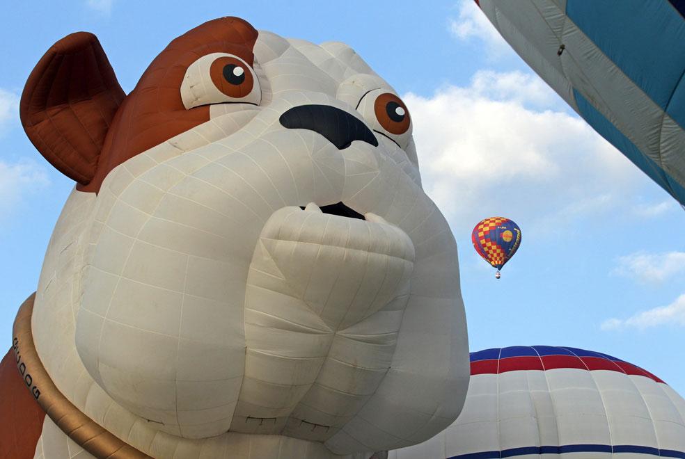 Фиеста воздушных шаров, Бристолев, фото