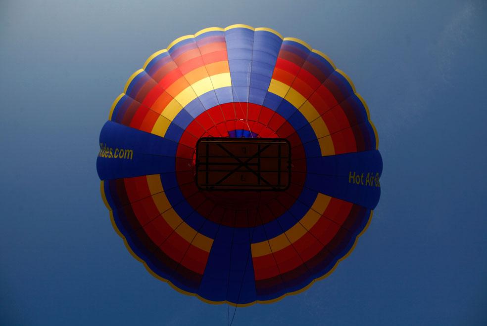 воздушный шар в фестивале Нью-Джерси, фото