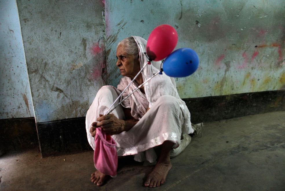 индуска с шарами, фото