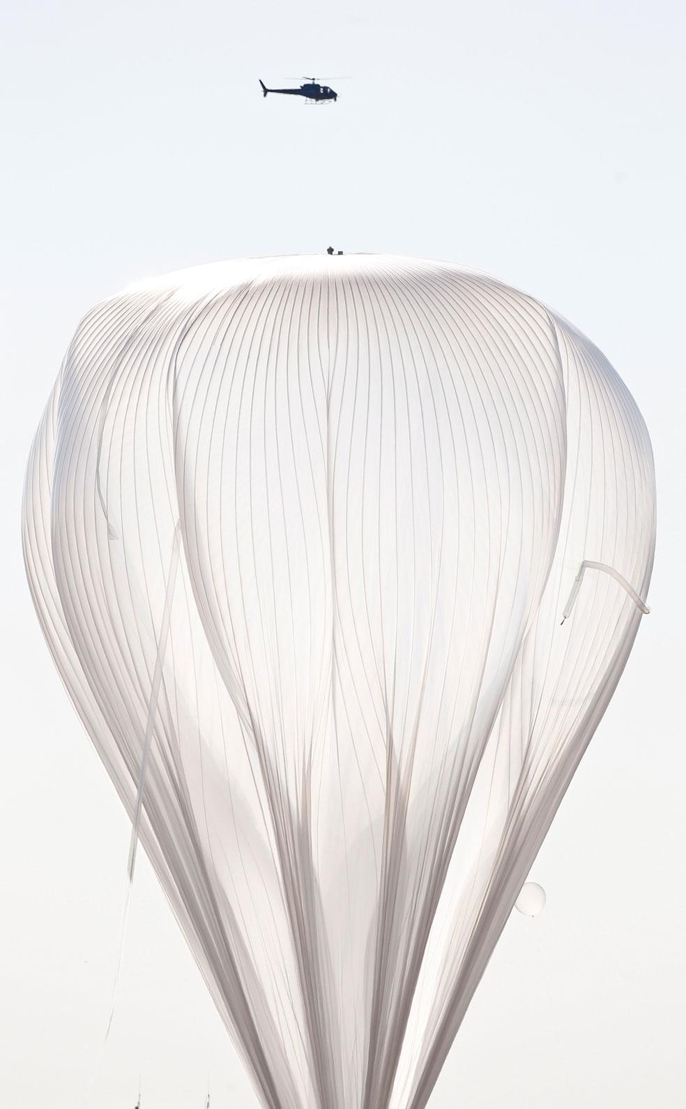 огромный воздушный шар, фото