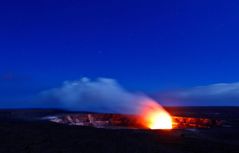 Кратер вулкана Килауэа, фото