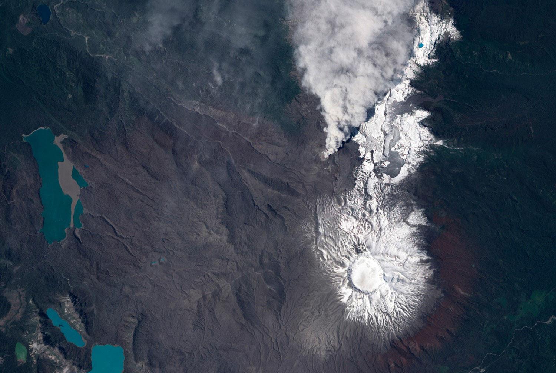 серия извержений вулкана Пуйехуе-Кордон, фото