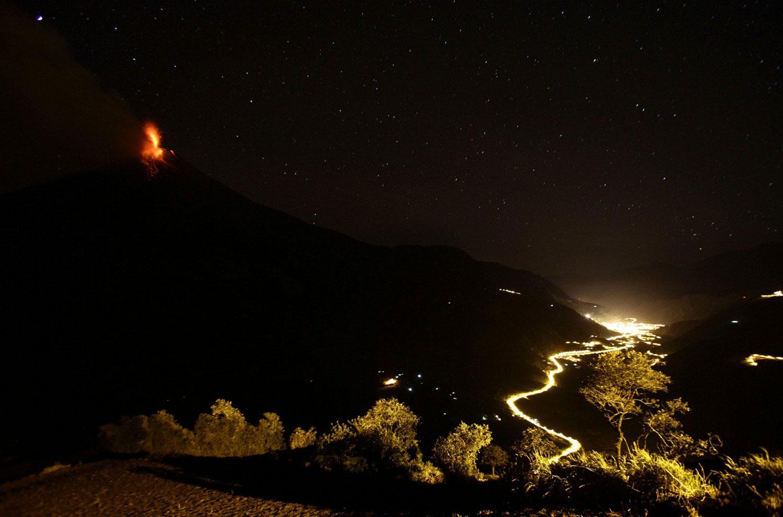 извержение Тунгурауа, фото