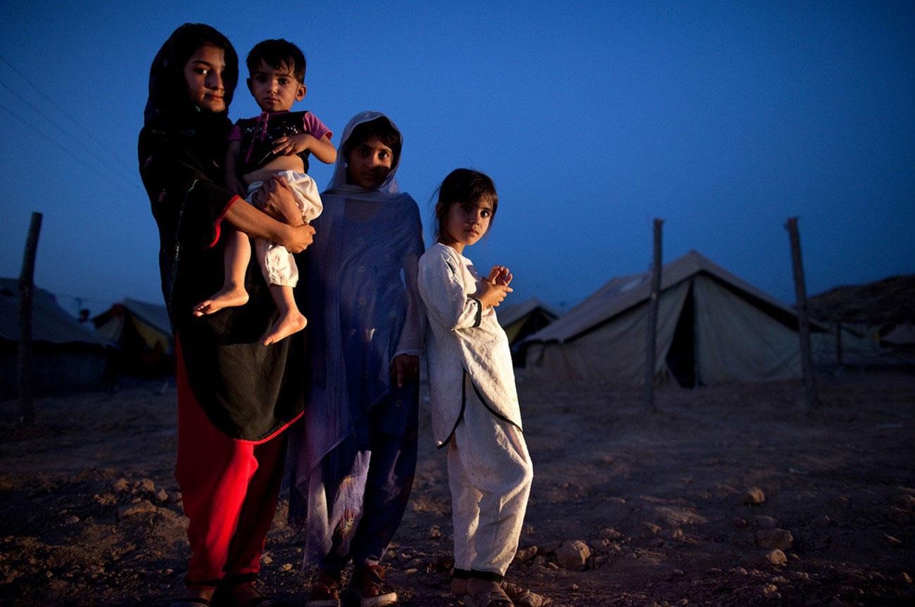 вынужденная переселенка в Пешеваре, Пакистан