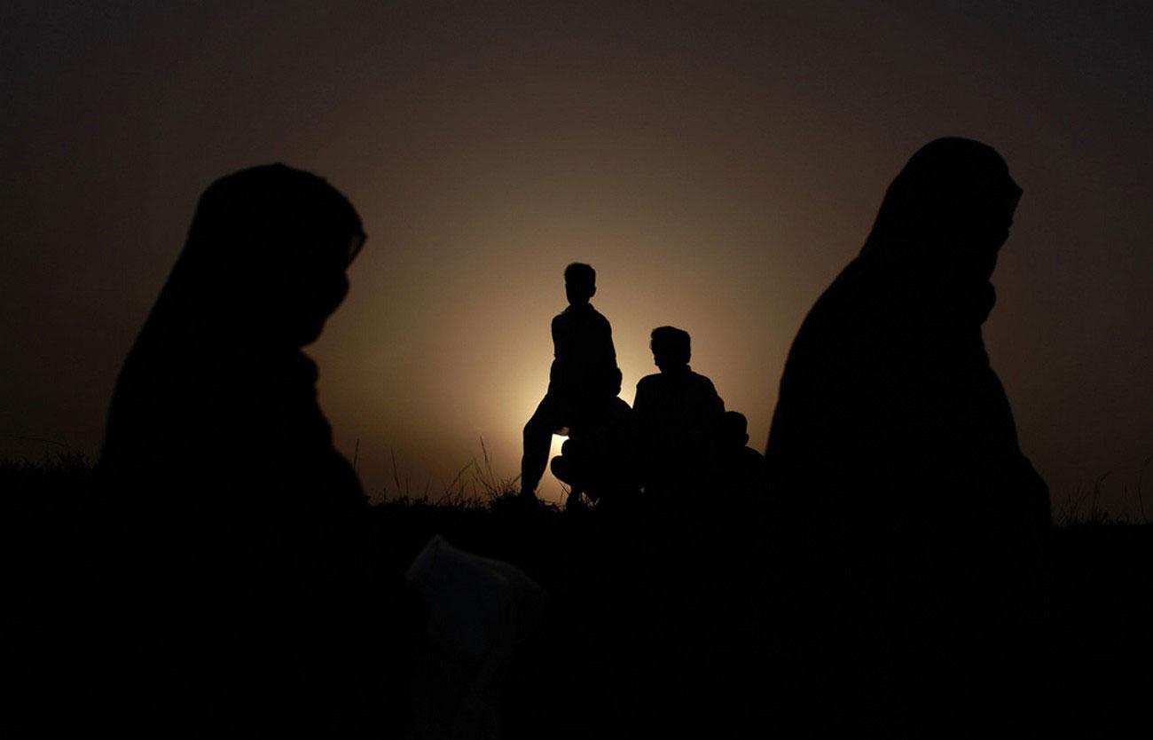 вынужденные переселенцы в пакистанском районе