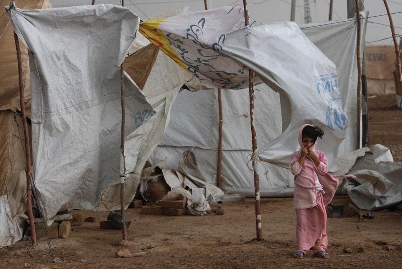 ветер и дождь в лагере юеженцев