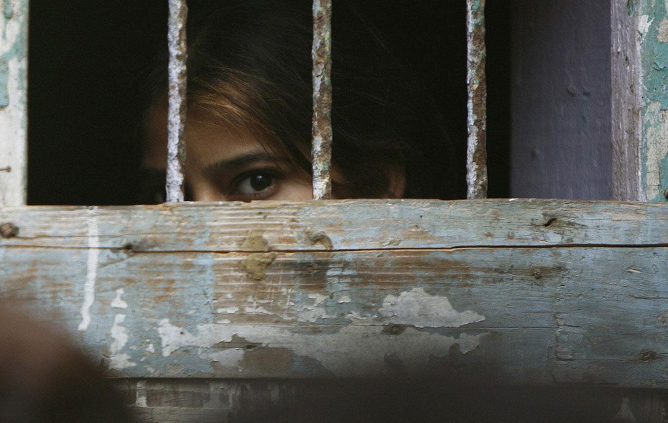 в индуистском районе Ляри переселенцы Пакистана